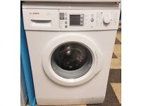 461 white bosch 7kg 1400 spin washing machine with warranty can be delivered or collected