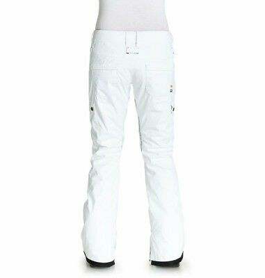 Dc Recruit Womens Snowboard Pants White New L new..