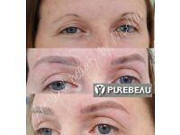 Microblading permanent makeup 3D lips eyeljner semi