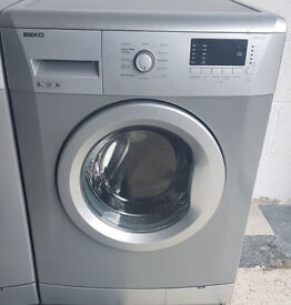 w600 silver beko 6kg 1600spin washing machine comes with warranty can be delivered or collected