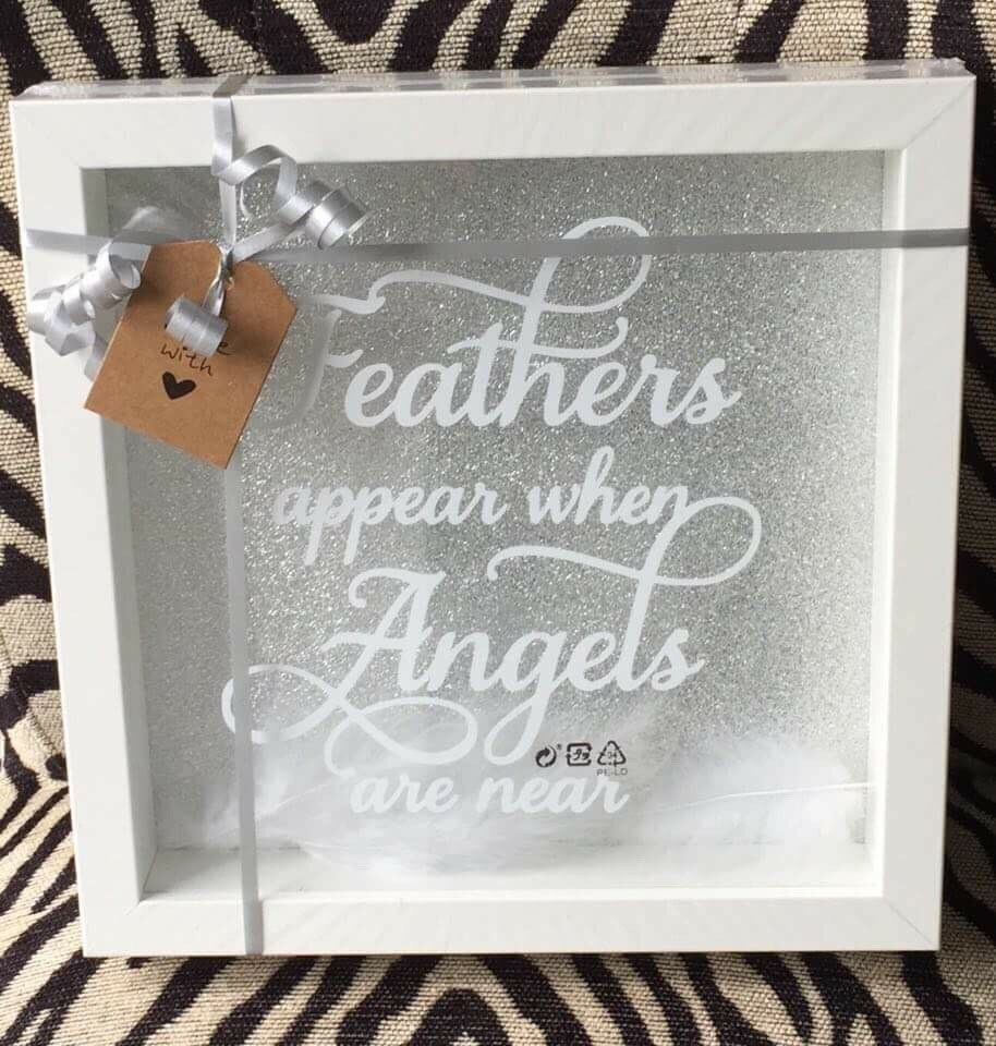 Feathers Appear When Angels are Near Memorial Frame | in Sunderland ...