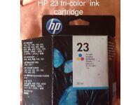 genuine HP ink no 23