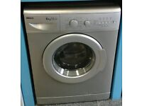 a166 silver beko 6kg 1300spin A*A rated washing machine come with warranty can be delivered