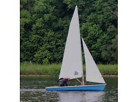 Laser 2 sailing dinghy