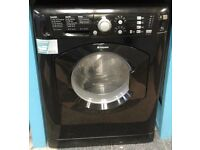 g192 black hotpoint 7kg 1400 spin washer dryer comes with warranty can be delivered or collected