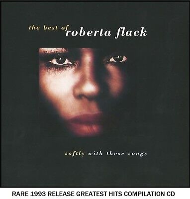 Roberta Flack - The Very Best Greatest Hits Compilation - RARE 1993 CD 70's