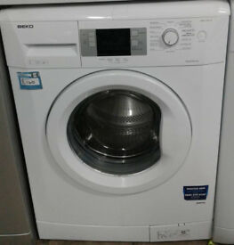 k327 white beko 7kg 1600spin A++ rated washing machine comes with warranty can be delivered