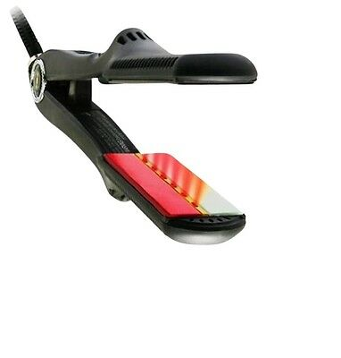 "Croc TurboIon Infrared Digital Ceramic At full speed Iron Hair Straightener 1.5"" - New"