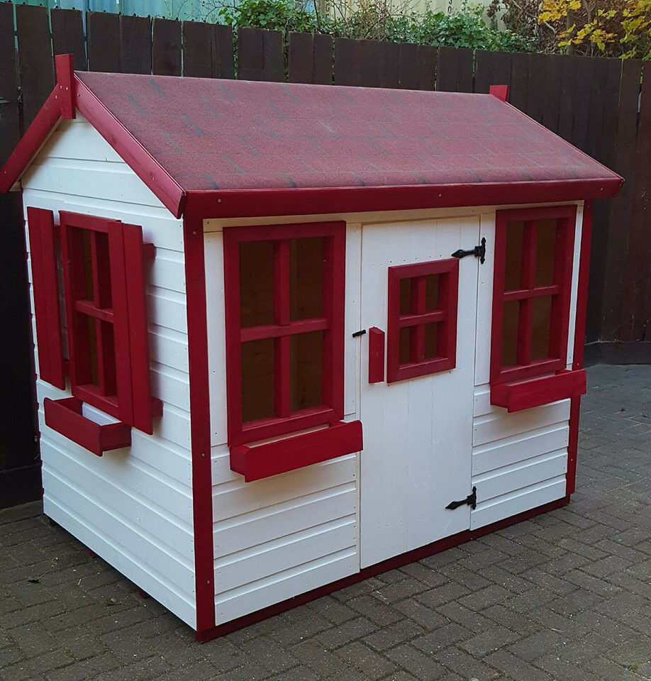 6x4 Wooden Childrens Playhousewendy House Top Quality Painted In Sunderland Tyne And Wear Gumtree
