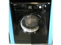 a758 black beko 8kg 1200spin washing machine comes with warranty can be delivered or collected
