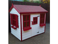 6x4 wooden painted playhouse brand new