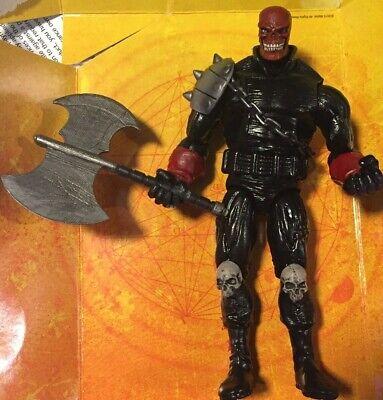 Marvel Legends CUSTOM BLOOD AXE - spider Man Ghost Rider Ghost Thor Loki Hulk