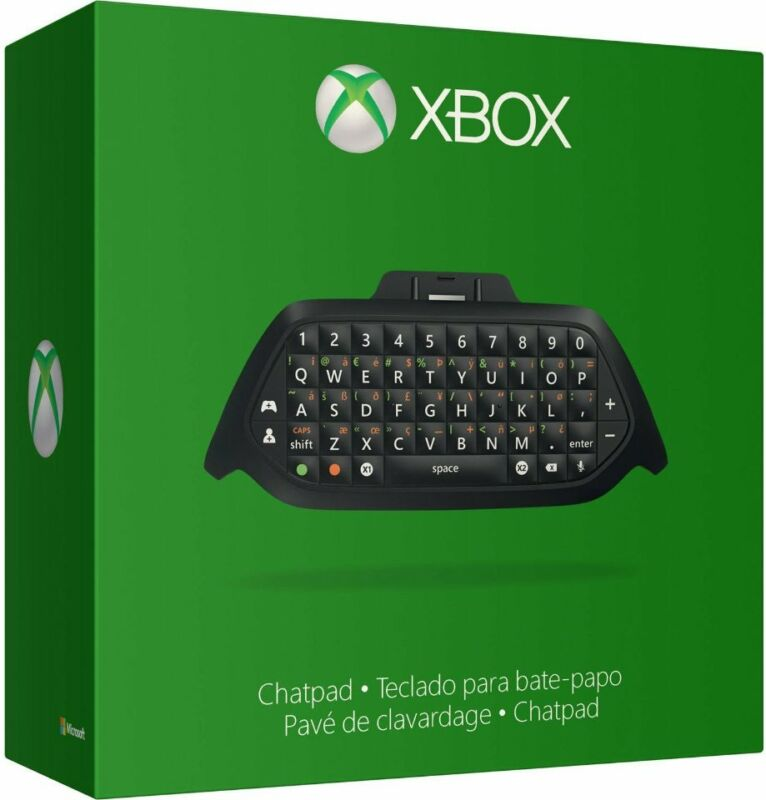 Microsoft Xbox One Chatpad + Chat Headset