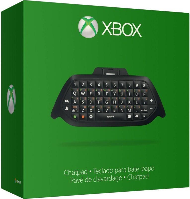 Microsoft Xbox One Chatpad Black 5F7-00001