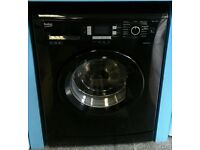 f291 black beko 7kg washing machine comes with warranty can be delivered or collected