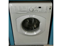 a703 white hotpoint 7kg 1200spin washing machine comes with warranty can be delivered or collected