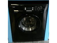 G291 black beko 7kg 1400 spin washing machine with warranty can be delivered or collected