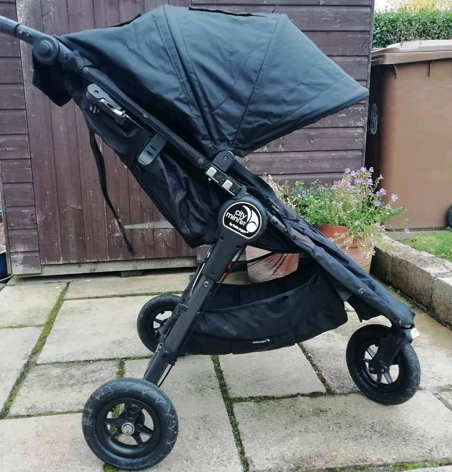Baby Jogger City Mini Gt With Footmuff And Travel Bag In Bishopton Renfrewshire Gumtree