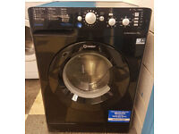 451 black indesit 7kg washing machine comes with warranty can be delivered or collected