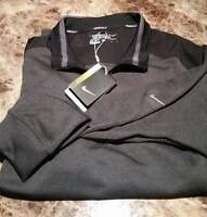 Nike dri fit 1/2 zip golf size small or large
