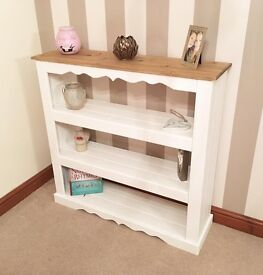 ***Large Rustic Pine Display Bookcase***ONLY £89***