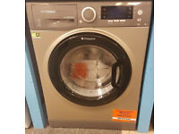 N173 NEW graphite hotpoint 9kg 1400spin washer dryer with manufacturers warranty can be delivered