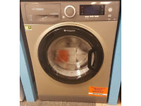 L173 NEW graphite hotpoint 9kg 1400spin washer dryer with manufacturers warranty can be delivered