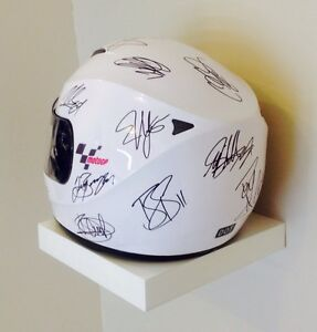Signed Moto GP helmet 2011 season, Rossi, Simoncelli, Stoner... Baldivis Rockingham Area Preview