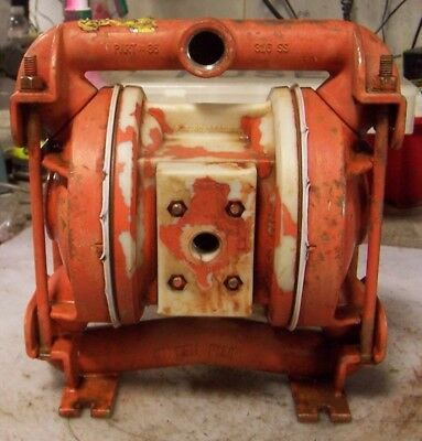 Wilden Stainless Steel Air Operated Double Diaphragm Pump 34 X 1 Model 86