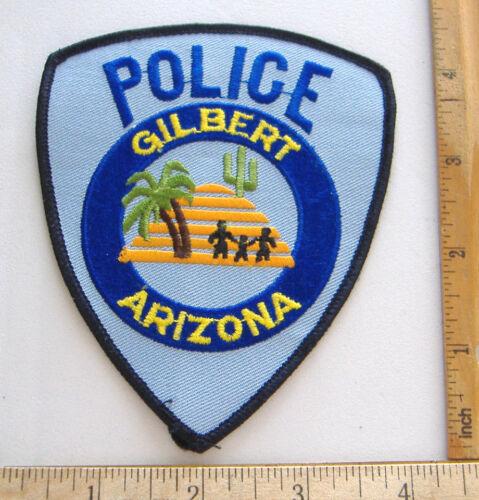 GILBERT~ARIZONA POLICE FABRIC PATCH~UNWORN