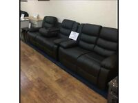🔥SHOP NOW 📨CHICAGO Recliner Leather Luxury Style 3+2 Seater Beautiful Sofa Set🇬🇧 MEGA DISCOUNT🔥