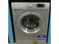 U234 silver indesit 7kg&5kg 1400spin A rated washer dryer comes with warranty can be delivered