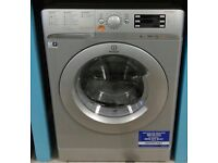 g234 NEW silver indesit 7+5kg 1400 spin washing machine comes with warranty can be delivered or coll