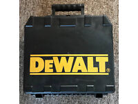 Dewalt Cordless Drill Case, have two for sale, one brand New Other used