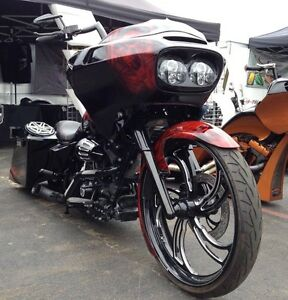 Full Custom Harley Road Glide Big Wheel Bagger