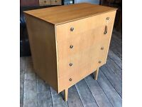 Mid Century 70's Chest Of Drawers