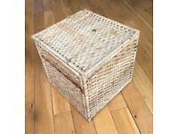 Natural weave storage box. Collection around Angel Islington.