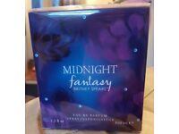 "New & Sealed 100ml Britney Spears ""Midnight Fantasy"" Eau De Parfum."