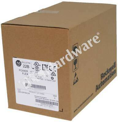 New Sealed Allen Bradley 22b-a5p0n104 A Powerflex 40 Ac Drive 240v 1-p 5a 1hp