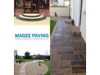 Paving labour required