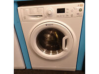 E399 white hotpoint 9kg&6kg 1400spin A rated washer dryer comes with warranty can be delivered