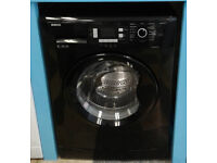 c028 black beko 8kg 1200spin A+ rated washing machine comes with warranty can be delivered