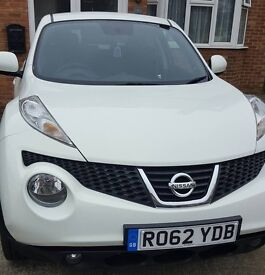 My much loved Nissan Juke is up for sale
