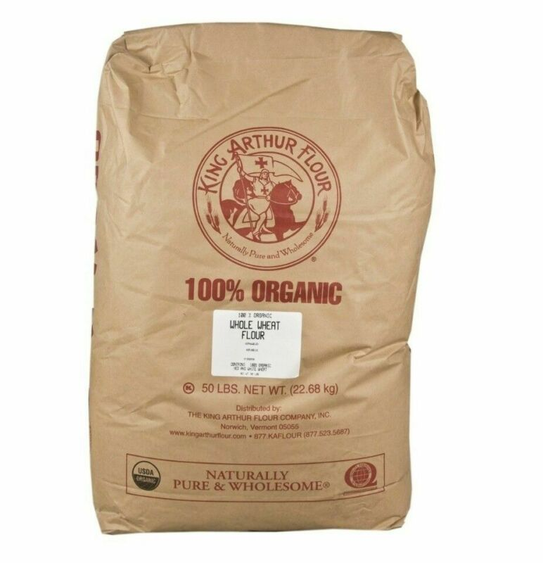 King Arthur Organic Whole Wheat Flour - 50 Lb