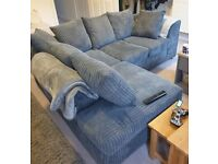 BRAND NEW JUMBO CORD CORNER & 3+2 COUCH SOFA AVAILABLE IN STOCK.ORDER NOW