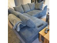 BRAND NEW DYLAN JUMBO CORD CORNER & 3+2 SOFA SET AVAILABLE IN STOCK IN DIFFERENT COLOR