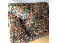 Trendy Vintage 5ft Sofa Bed. Original 80s item! RRP £999