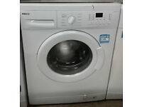 p056 white beko 8kg 1400spin A+ rated washing machine comes with warranty can be delivered