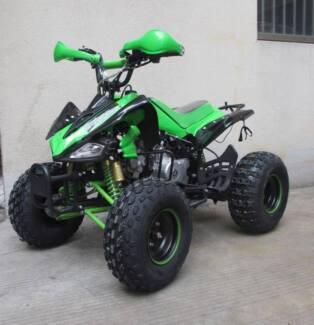 125cc Raptar ATV QUAD offroad 4 stroke auto speed governor lights