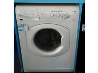 BB112 white hotpoint 5kg&5kg 1400spin washer dryer comes with warranty can be delivered or collected